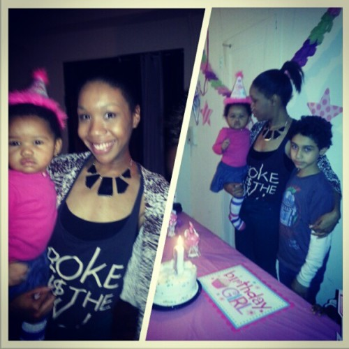 #birthday #girl #Skylar @nichiie and #Cruize getting ready for some #cake #1stBirthday