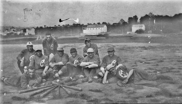 26th Infantry, 1st Division, baseball team. Source: http://www.sfgate.com/travel/article/Tribute-to-World-War-I-s-solder-athletes-4024461.php#photo-3726734