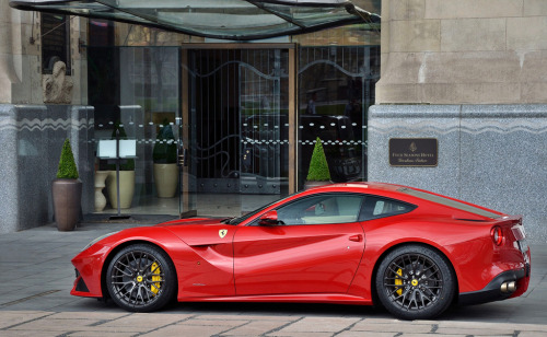 automotivated:  Ferrari F12 Berlinetta (by Miklós Kertész)