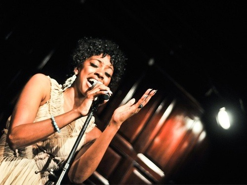 Tony nominee Condola Rashad performs original songs at Players Club concert
