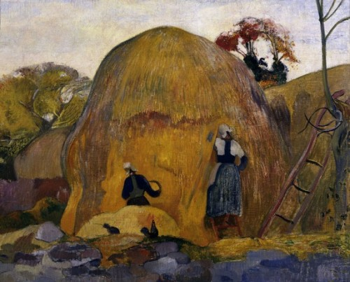 Paul Gauguin, The Yellow Haystack, 1889