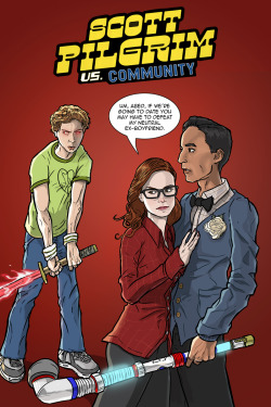 thecultofpop:  Scott Pilgrim vs. Community by @abouthebenjamin