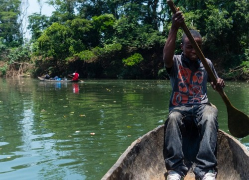 "theatlantic:  How Cuban Villagers Learned They Descended From Sierra Leone Slaves  They were adamant about going all out. People who sing the village's songs—melodies and rhythms that tie them to this inaccessible chiefdom — are considered family. ""Our grandparents who told us the stories about our people going as slaves, we know now that they didn't lie,"" says Joe Allie, an elder of the village and Pokawa's uncle. ""These must be our people,"" says Solomon Musa, a young man who works as a teacher in the village, ""when we saw the people who practice the same things we used to do, we were so happy, we are full of joy."" Read more. [Image: They Are We]"