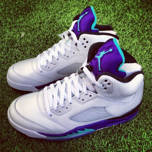 NIKE AIR JORDAN V GRAPE