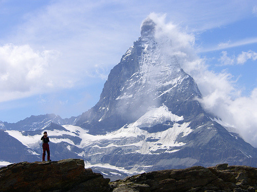 parkerfitzgerald:  Matterhorn and clouds (by Seesturm)