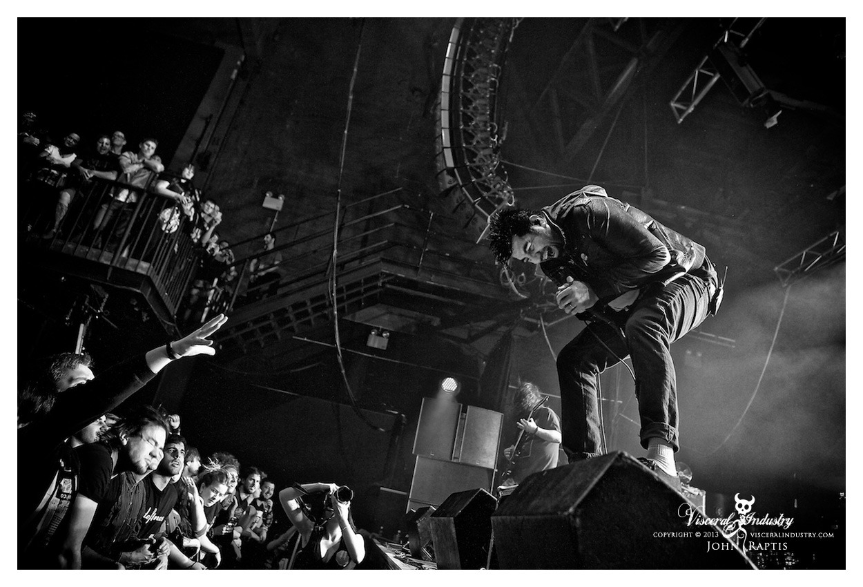 Deftones Live @ The Palace, Melbourne, AustraliaMay 17 2013Photo By John Raptis visceralindustry.com