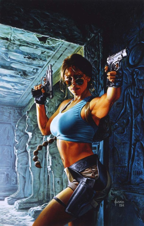 super-hero-center:  Tomb Raider by ~JoeJusko