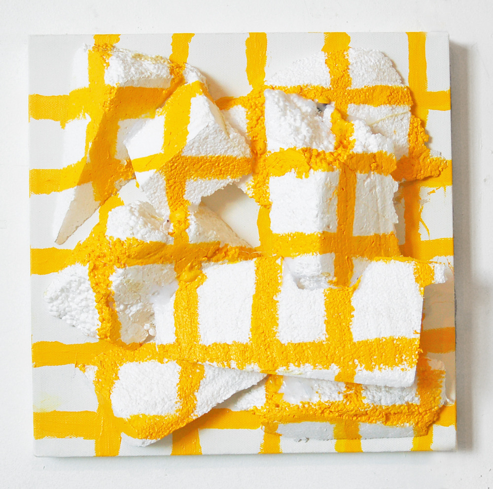 Untitled (Yellow Grid) By Anna Mikhailovskaia, 2012