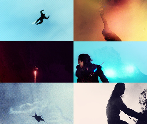screencap meme @jacesclarissa/anon asked the avengers +  space & silhouettes