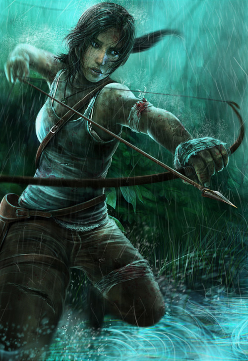 Tomb Raider 'The Wild Hunt' by Isaiah Paul Cabanting