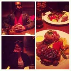1 Year ♥ (at The Keg Steakhouse & Bar)