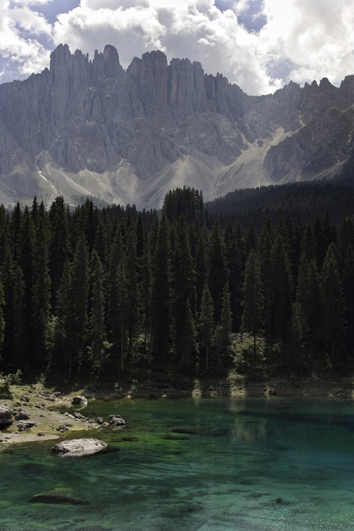 travelingcolors:  Carezza Lake | Italy (by Daniele Faieta)