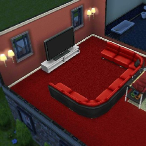 Cool entertainment room. Haha #thesimsfreeplay (at Villamor)