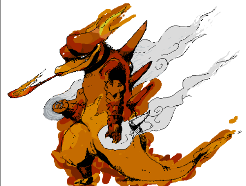 awesomepokemonartistry:  Magmar by x