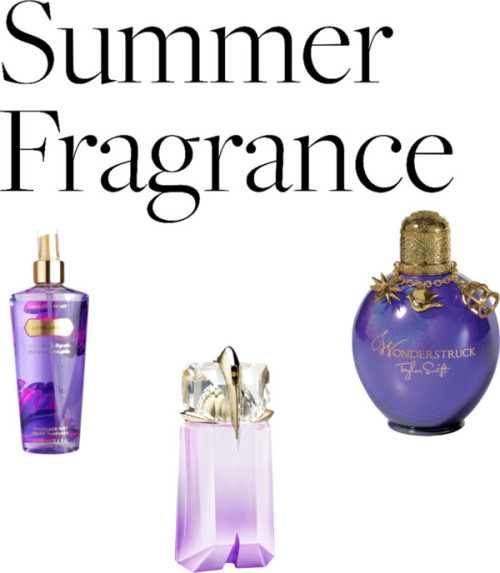 My Favorite Summer Fragrance by holly-plake featuring an edp perfumeMUGLER edt perfume / Edp perfume, $44 / Victoria's Secret spray perfume