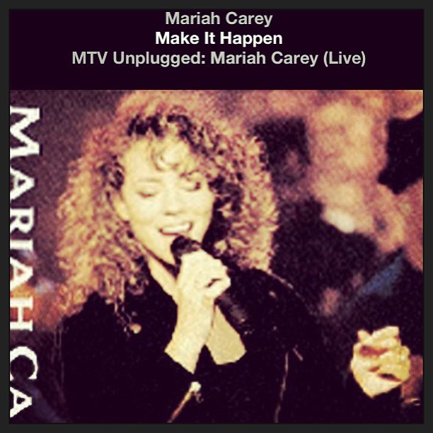 Soundtrack of the week. Make it happen!!!! #mariahcarey #mimi #ilovemusic #music #inspiration #chroniclesofadesigner