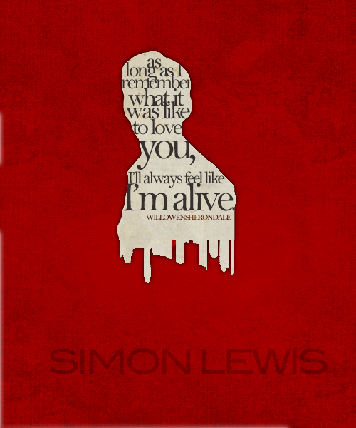willowensherondale:    ↳ Character Portrait » Simon Lewis