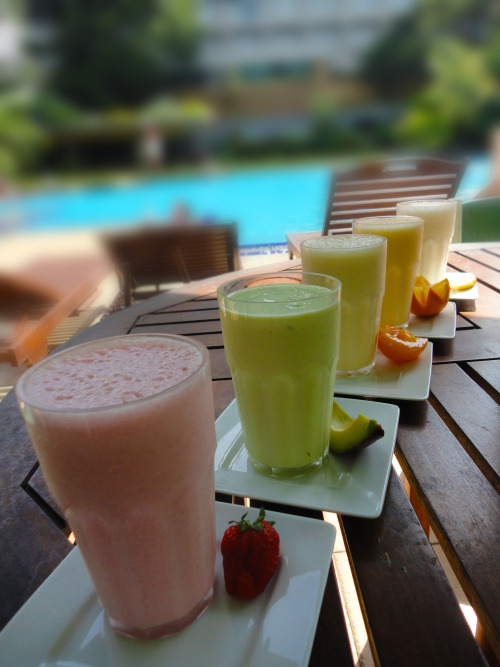 gettingahealthybody:  I want the avocado smoothie please.