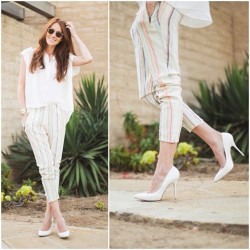 Love how @couldihavethat styled my Mona pants (avail at @Nordstrom!) - how would you wear them?