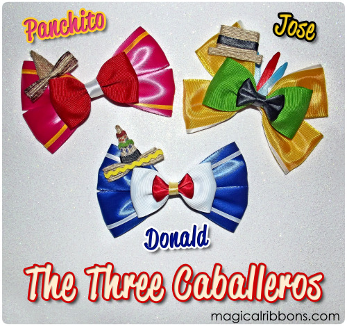 Magical Ribbons - The Three Caballeros