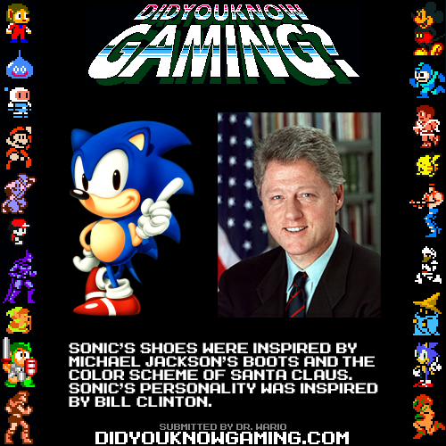 Sonic The Hedgehog.  http://www.youtube.com/watch?v=6D9h-4vQUHM
