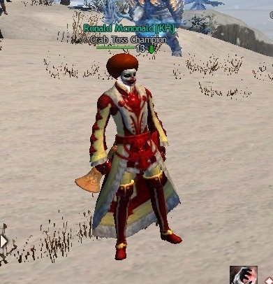 met this guy when I was waiting for Maw. he's a mesmer. awesome shit.