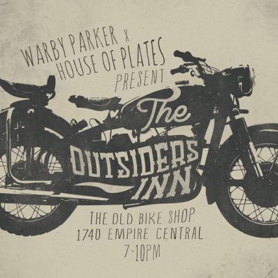 Just finished working on an event poster for Warby Parker x House of Plates. Yay!