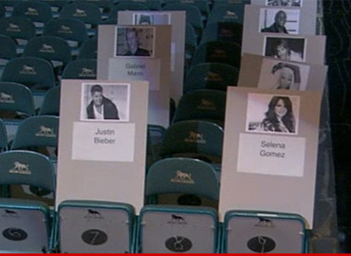 "Check out where @NICKIMINAJ is sitting for the 2013 Billboard Music Awards! Nicki better keep an eye out for se-lee-ner… hahahah Tune in this Sunday, May 19 at 6:30pm ET / 3:30pm PT to see the LIVE stream of Nicki walking the BBMA 'Blue Carpet' ""HERE"" Then, the Billboard Music Awards will air live at 8:00pm ET / 7:00pm PT on ABC, and it's sure to be a memorable one as Nicki performers her New Hit single, ""High School"" with Lil' Wayne!"