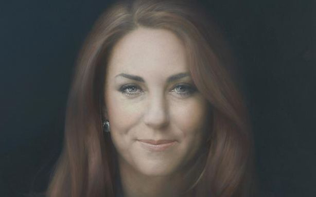 Does Anyone Like Kate Middleton's New Portrait? [Image: The Duchess of Cambridge by Paul Emsley]