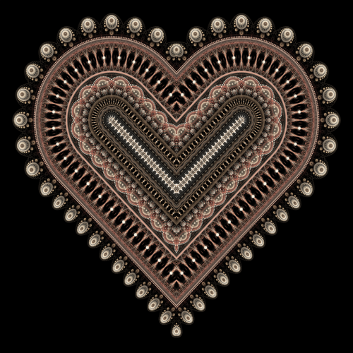 Fractal Heart by ~haywain (Wægen)       (fh520b) Available from DeviantART as high resolution (5000x5000px) download for free, or for purchase as print (prints, cards, mugs and more).