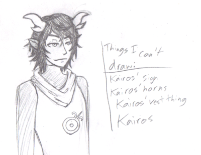 fuck why is this so hard aaaa tinymeatbuns's fantroll Kairos. He is amazing but I can't draw him