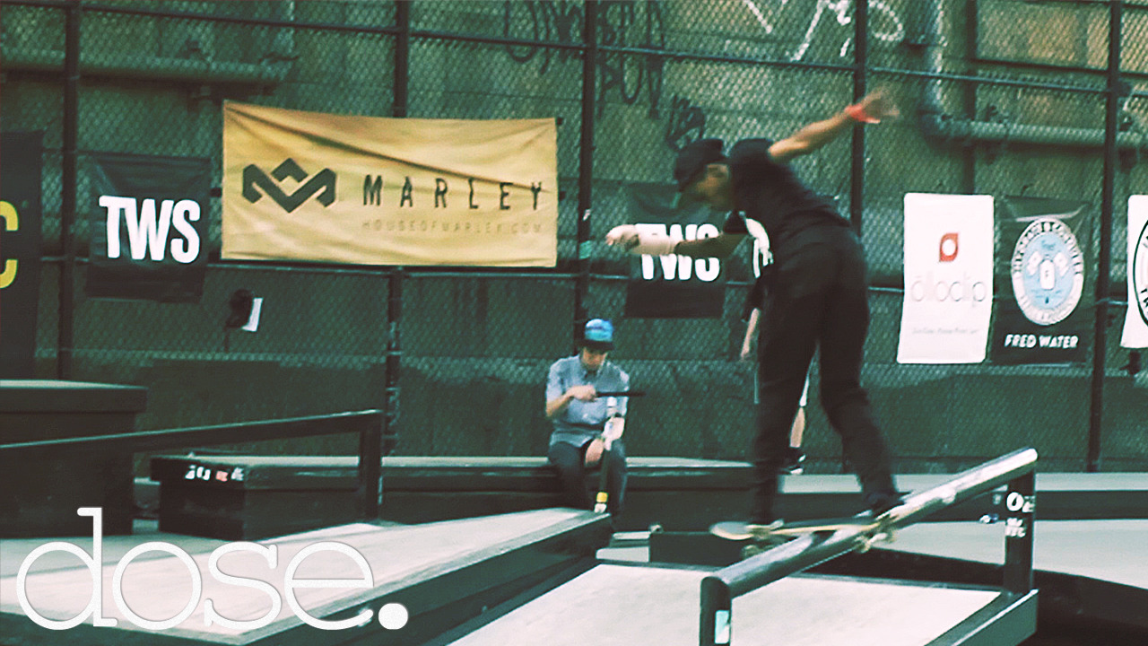 #dose stopped by the recent Transworld Skateboarding X WeSC Come Up Tour to watch NYC's top ams compete for bragging rights and sponsorship!