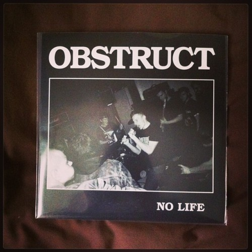 xeasywayoutx:  Repping band mates straight edge jams. #obstruct #ukhc #jonnypayneneedsinstagram  I don't have Instagram but I have my own tag. Nice.  Oh yeah, go pick this up over at Northern Wisdom Records… http://northernwisdom.com/