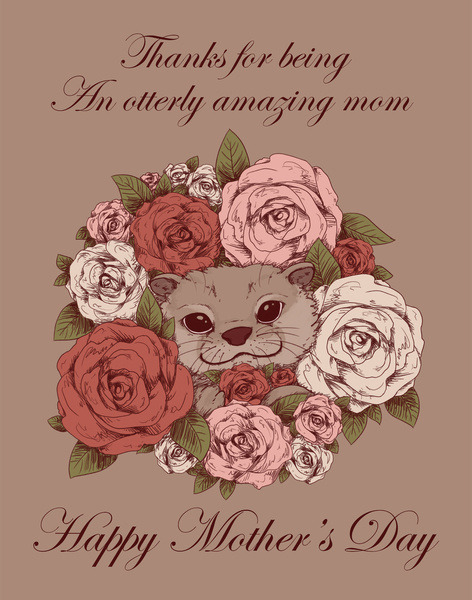 fallenzephyrart:  Happy Mother's Day to all of the wonderful mothers out there! This is the big art print that I drew for my mom this year. Her copy is special, because it's the very piece I've ever drawn and turned into a physical art print c: Also available as a print here! (Pretty late, but hey, there's always next year!)