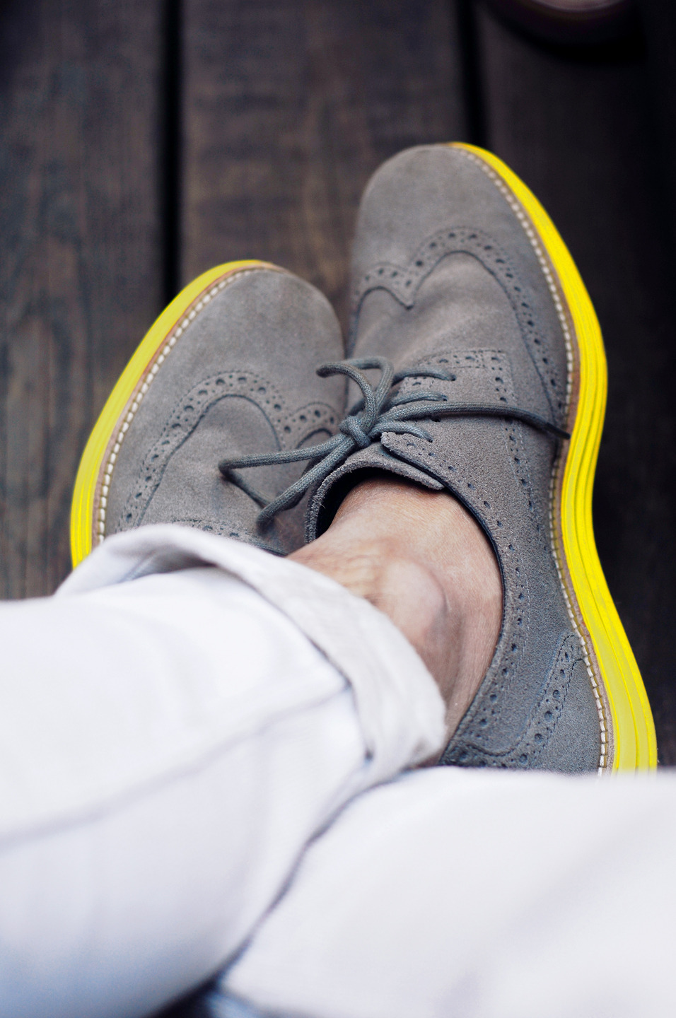 Chillin' at Saturdays with my LunarGrand Wingtips.