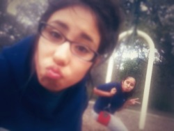 Me &' My Sister ❤ at Govalle Park – View on Path.