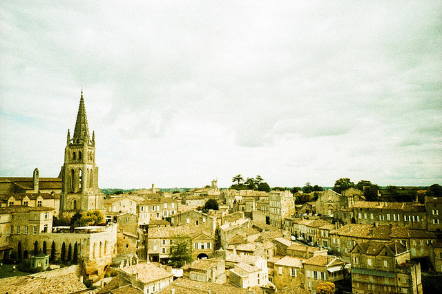 | ♕ |  Saint-Émilion - Gironde, France  | by © Marcio Serpa Saint-Émilion's history goes back to prehistoric times and is a World Heritage site, with fascinating Romanesque churches and ruins stretching all along its steep and narrow streets. The Romans planted vineyards in what was to become Saint-Émilion as early as the 2nd century.  [Ref. Wiki]