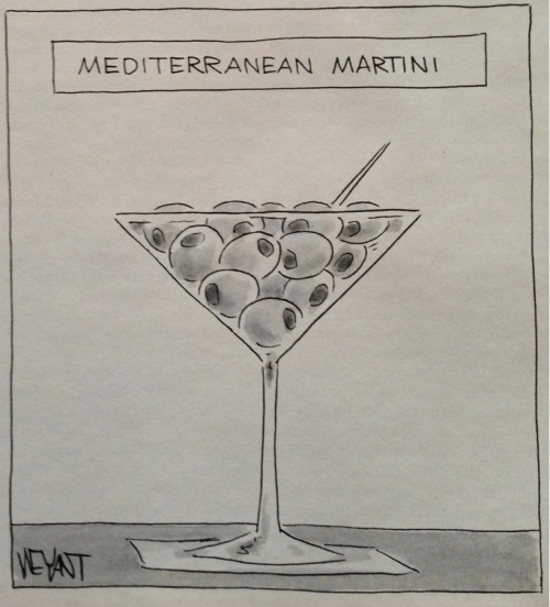Mediterranean Martini (The New Yorker)