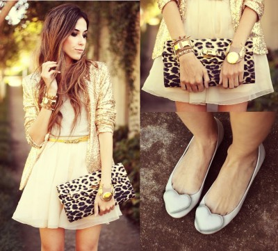 lookbookdotnu:  Life here is gold (by Flávia Desgranges van der Linden)