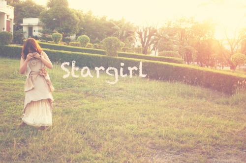 Stargirl. :) [[MORE]]It's been such a looooong~ time since I last posted! I missed this humble little webspace of mine. Haha~ Over the last few months, I've gone through so many things (which I hope, I'ld get a chance to blog about later).  I decided to post the photos I for a our class plate in one of my majors. We had to choose a book and create costumes for characters. Boo (my lovely awesomesauce partner) and I decided to choose Stargirl. :) It's one of my favorite books and her character was perfect to play around with~ :3 You should all read it, if you have not yet done so. It's really light and fun…and to a degree, enlightening. Hahaha~ Anyhoo~ here's our photo interpretations of Stargirl~           Photos were done by me. :) Our lovely model was our classmate Thea Villaflores  And the styling is by me and Boo Malsi. :3 WE MADE SUCH A GOOD TEAM. IMO. Hahaha. It was fun~ Oh oh. And here are some ~outtakes~, I happen to snap some of the real good photos when Boo's in the frame. :p