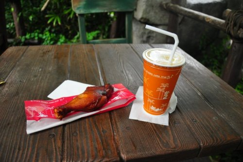 so this is what you get instead of a turkey leg at Tokyo DisneySea.  welp.
