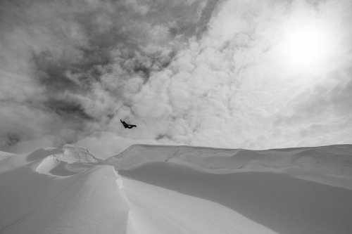 Markus Keller filming for CHAMaLEON in the Whistler backcountry. Photo: Vernon Deck. More shots at redbull.com…