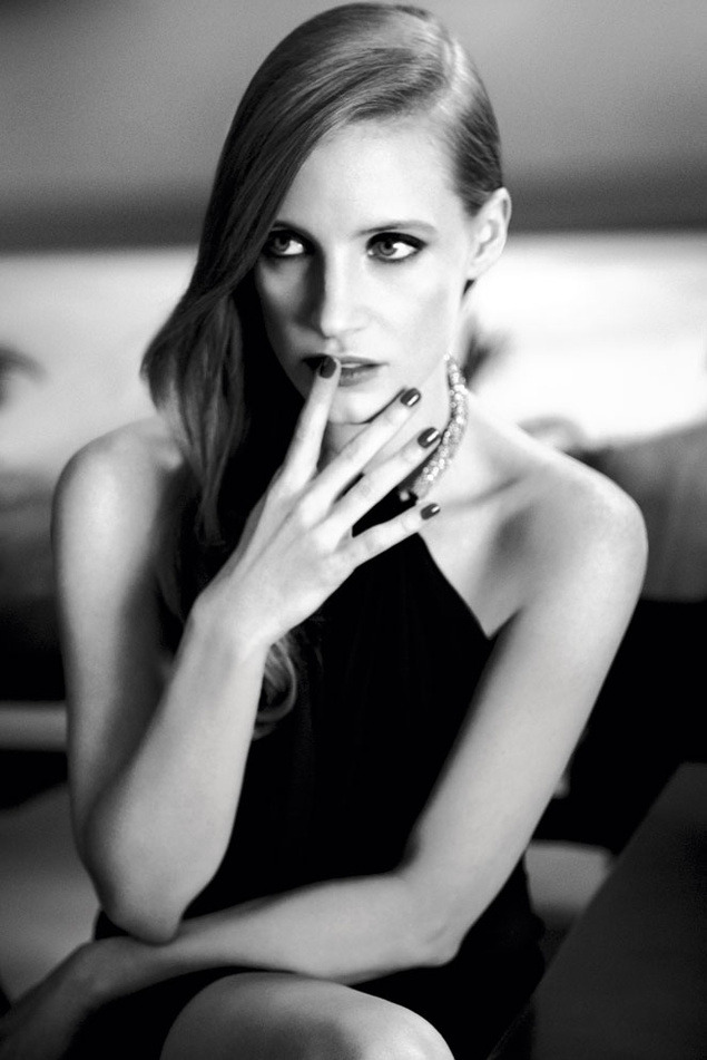 Jessica Chastain - YSL Beauty by Max Vadukul