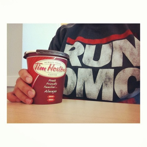 14: [need] #coffee #timmies #rundmc #sweater #fmsphotoaday #igers #instagood #instadaily