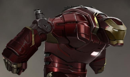 youarelostbecareful:  The Hulk Buster Iron Man suit concept art.
