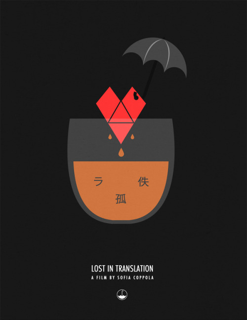 fuckyeahmovieposters:  Lost in Translation by Art Dilly