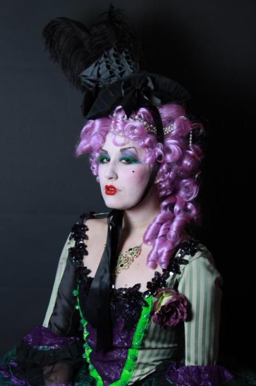 Marie Antoinette Candyland Photo Shoot!