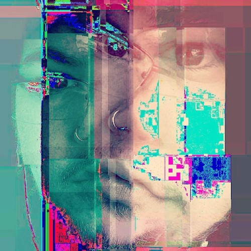 #OBSESSED with the #glitchlab #app!   #glitch #me #myself #digital #messedup #static #rad #radshit #iloveit