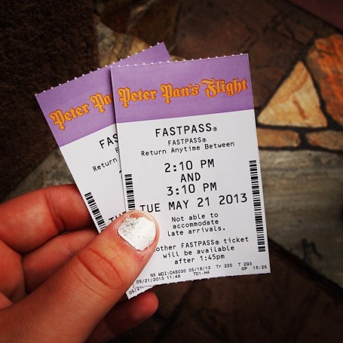 Peter Pan's Flight #fastpass #fantasyland #darkride #classicattraction #waltdisneyworld #magickingdom #peterpansflight  (at Fantasyland)