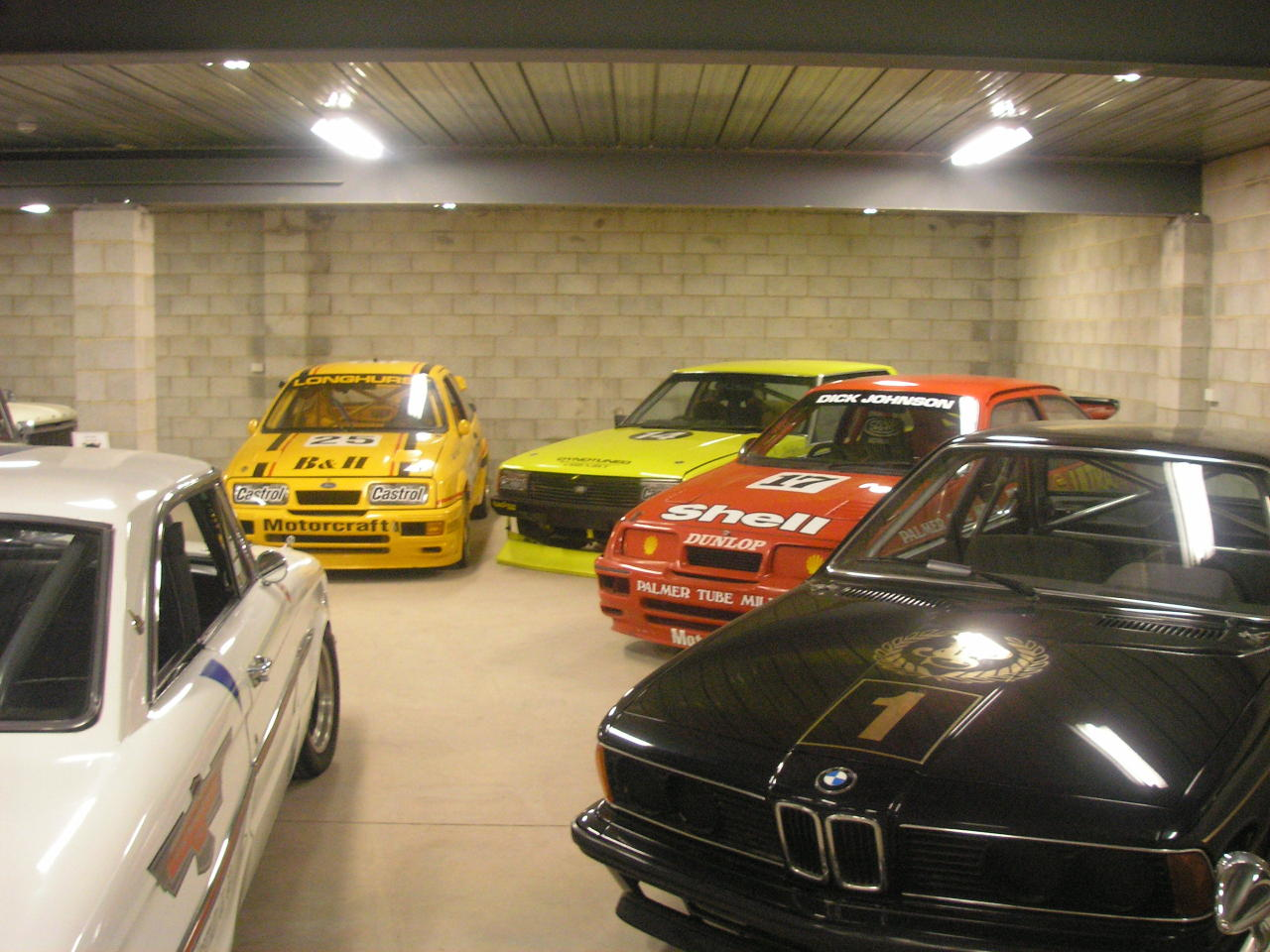 Mp4-12cxx: BOWDENS. Inc dick Johnsons Ford Sierra cosworth What a collection this place has. Absolutely loving the Sierra Cosworths and that JSP E24. Thanks for submitting! Cosworths from the past